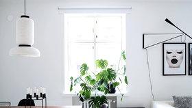Sázka na klasiku. Minimalistický domov v severském stylu zdobí čistota a kontrast