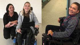 """Eva na byt pro postiženou dceru Katku (17) čekala čtyři roky. A dostala """"špeluňku"""""""