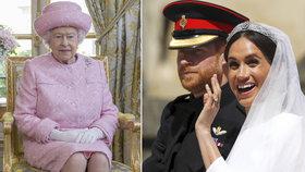 Královně došla s Meghan trpělivost: Přísná slova postavila do latě i Harryho!
