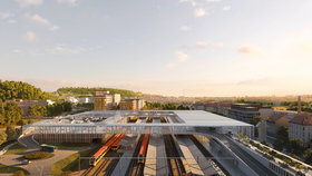 Vinohradské tunely za čtyři miliardy i lávka na Smíchově: Správa železnic chystá v Praze dva obří projekty