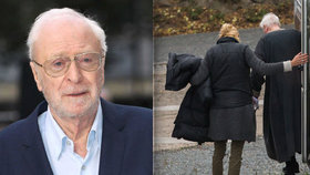 Oscarový herec Michael Caine v Česku točí Žižku: Zradila ho noha!
