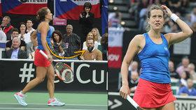 Matchpoint Strýcové: Na Wimbledonu jí ještě fandil Kraus, na Fedcupu už bejček Matějček!
