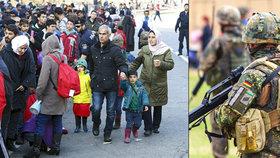 Elitní vojáci plánovali masakr: Terčem měli být migranti i exprezident