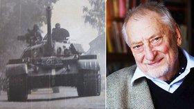 Zemřel redaktor Českého rozhlasu Jan Petránek (†86). Vysílal i pod palbou Rusů