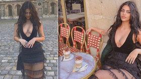 Potupa slavné modelky (25): Z Louvru ji vykopli kvůli odvážným šatům!
