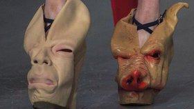 Prasečí hlavy nebo látková vagina: Takhle vypadají nejbizarnější boty všech dob!