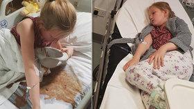 Dívenka (10) se kvůli šikaně pokusila zabít v den svých narozenin: Šokující foto z nemocnice