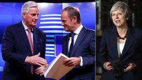 V Británii už kvůli brexitu padají hlavy. Tusk svolal mimořádný summit EU