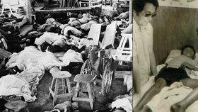 Masová sebevražda sekty Chrám lidu: 918 lidí vypilo limonádu s kyanidem a ulehlo ke smrti