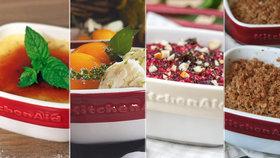 Sladkosti z misky: 5 receptů na rychlé dezerty z čokolády, ovoce i nadýchaného krému