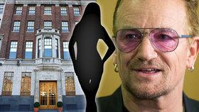 Češka (21) v Dublinu vypadla z okna hotelu, který vlastní Bono z U2: Je v kritickém stavu