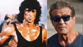 Dědeček Rambo! Sylvester Stallone (72) točí další díl kultovního krváku