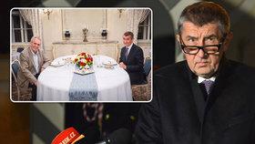 ONLINE: Babiš řekl, jak dlouho má za syna Švýcara. A získal podporu komunistů