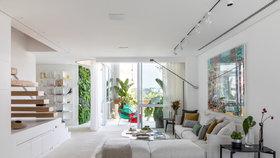 Nový design pro byt z devadesátých let. Přibyla zelená stěna i technické inovace!