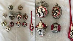 Hitlerovy koule na prodej: Vánoční ozdobičky dlouho na internetu nevydržely