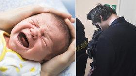 Muž z Pardubic (28) zabil dvoutýdenní miminko. Chtěl, aby dcerka přestala brečet: Soud ho poslal na 18 let za mříže