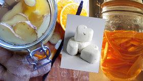 Udělejte si to doma sami: Univerzální čistič, srdíčka do vany i likér proti chřipce