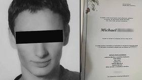 Zemřel známý český hudebník Michael Ř. (†26): Spáchal sebevraždu