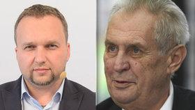 """Zeman """"pálí"""" na Jurečku kvůli zemřelému lékaři: """"Nejhloupější ministr Sobotkovy vlády"""""""