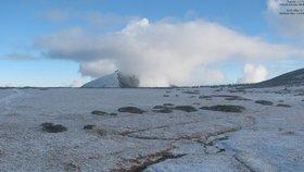 Začátek týdne přinese až 30 centimetrů sněhu. Nejvíc na jihu Čech
