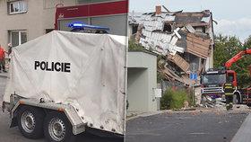 Co zavinilo nevídaný výbuch v Mostkovicích? Podle policie to rozhodně nebyl plyn!