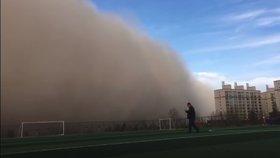 Milionové město pohltila písečná bouře. Obyvatelé dostali důrazné varování