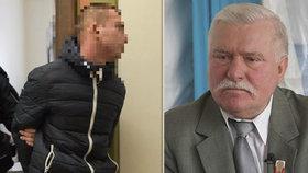 """Problémový vnuk exprezidenta Walesy je před soudem: """"Nevíte, kdo je můj děda?"""" zuřil prý Dominik W. (21)."""