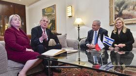 Zeman by rád českou hospodu v Jeruzalému. Do Lán se za ním chystá Orbán
