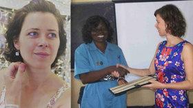 Češku zabila v Africe malárie! Tvrdí kamarádka. Nebezpečných nemocí se nebála
