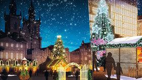 Vánoce v centru Prahy: Trhy se ponesou v duchu pohádky o Popelce a zahájí je princ