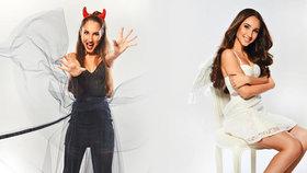 Dvě tváře Natálky Grossové (16) ve fotoprojektu BLESK tv MAGAZÍNU: Andílek s ďáblem v těle!