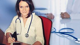 Mužů v medicíně ubývá, roste počet lékařek. Za málo peněz by nedělali, vysvětluje doktorka