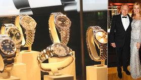 fff4ea0e8cf Pirk okukoval hodinky za 250 milionů. Převzal Zlatou vteřinu