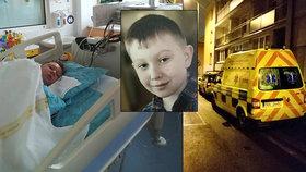 Adámek (10), kterého nechali lékaři krvácet na chodbě, je znovu v nemocnici! Zkolaboval kvůli záchvatům