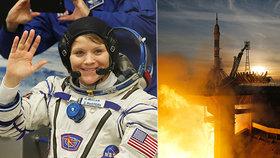 Američanka v ruské raketě: Sojuz napravil fiasko a přistál na vesmírné stanici ISS