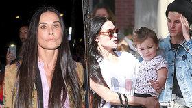 Demi Moore: Má dítě s návrhářkou?!