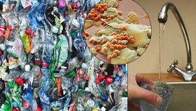 Mikroplasty zamořují vodu, jídlo i vzduch. Do lidského organismu se jich dostanou statisíce