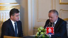 Ministr kvůli migračnímu paktu nabídl Kiskovi demisi. Prezident vyčkává