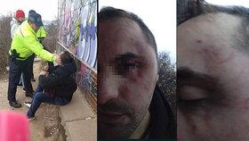 Pavla drsně profackoval strážník. Jeho přítelkyně Simona prý po incidentu potratila
