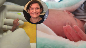 Poklidné těhotenství Veroniky (40) vystřídal strach o syna: Matouš se narodil o 10 týdnů dřív a vážil 970 gramů