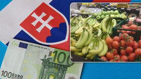 Slovákům se prodraží nákupy. Řetězce prodávající potraviny čeká nová daň