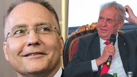 """Zeman ho nazval """"čučkařem"""". Vláda chce znovu povýšit šéfa BIS na generála"""