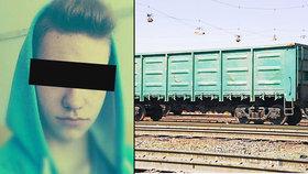 Adrián (†18) si chtěl na vagonu vyfotit selfie, při frajeřině ho zabilo 25 tisíc voltů