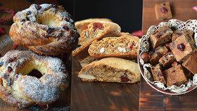 Vánoční cukroví? Překvapte rodinu něčím novým: 4 rychlé recepty na vynikající dobroty