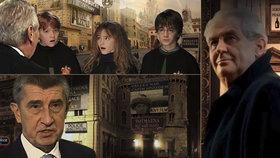 Virální bomba Harry Potter z Prahavic: Našli jste všechny ukryté vtípky?