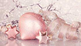 Barva letošních Vánoc je růžová. Jaké jsou další trendy?