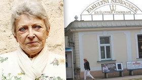 Jana Štěpánková (84) v nemocnici: Bála se, že se z toho nevylíže! Jak je jí teď?