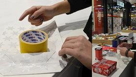 Oboustranná izolepa zachraňuje Vánoce. Profesionálka poradila fígle na balení dárků
