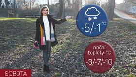 Počasí s Honsovou: Čeká nás mrazivý víkend, v neděli pozor na ledovku