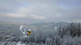 Beskydy pod sněhem: Na Bílé a v Mezivodí si už o víkendu zalyžujete, V Mostech máte smůlu